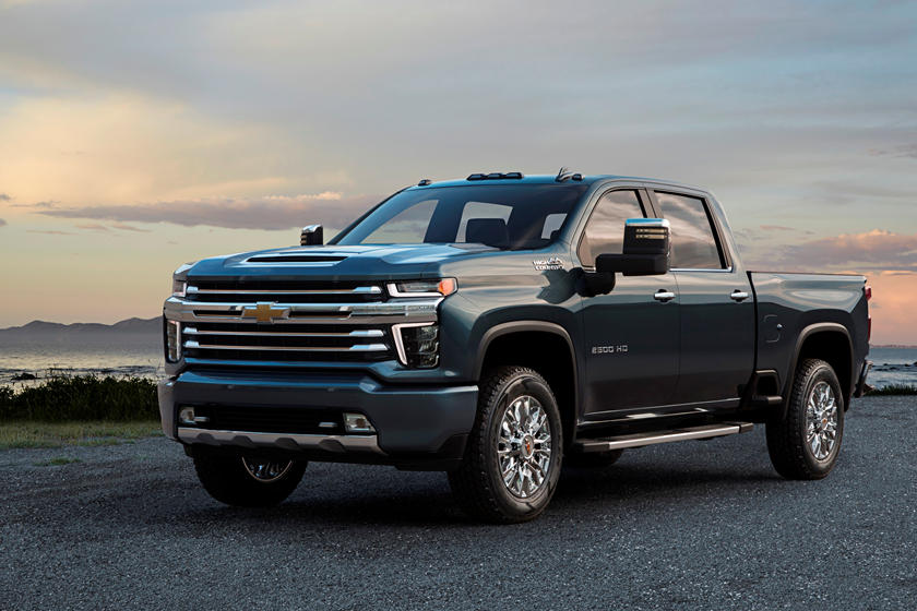 2021 Chevrolet Silverado 2500HD diesel Double Cab Front View