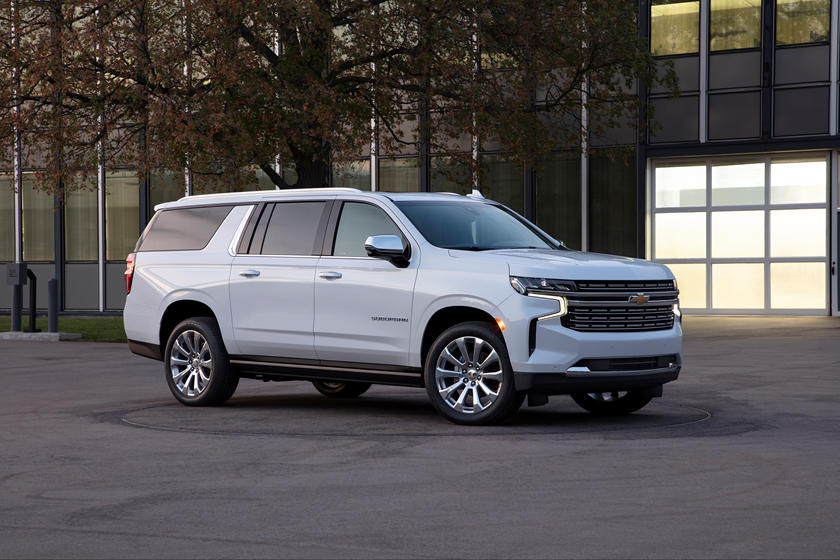 2021 Chevrolet Suburban Front Third Quarter View