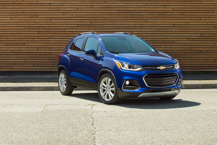 2020 Chevrolet Trax SUV Front View