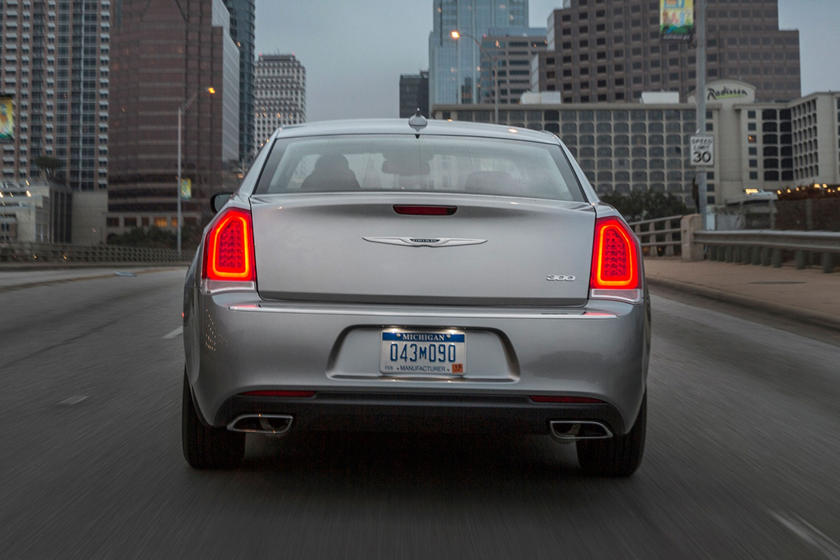2021 Chrysler 300 Sedan Rear View