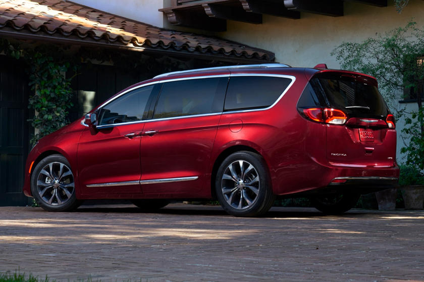 2019 Chrysler Pacifica Minivan Rear Angle View