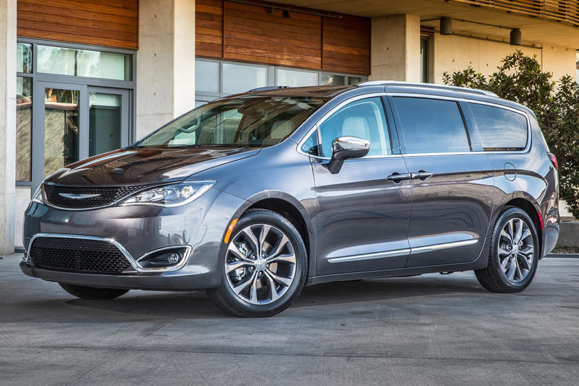 2020 Chrysler Voyager Minivan three quarter view
