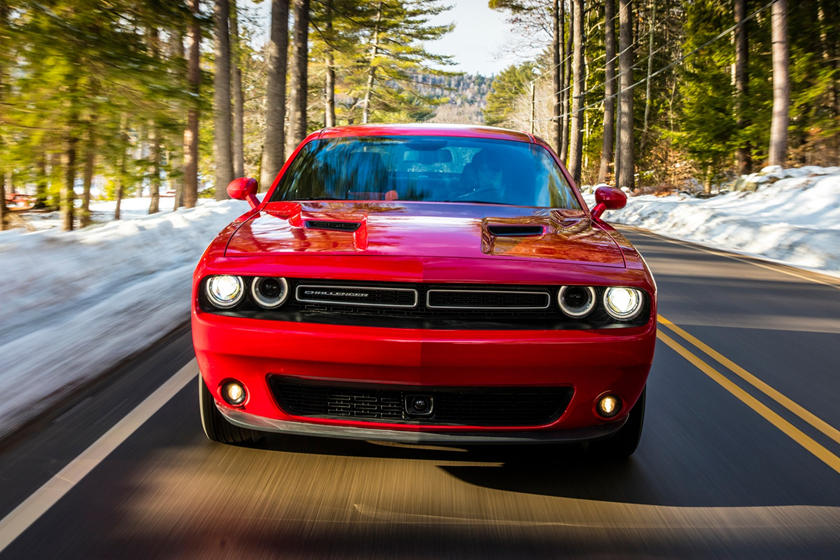 2020 Dodge Challenger Coupe Front View