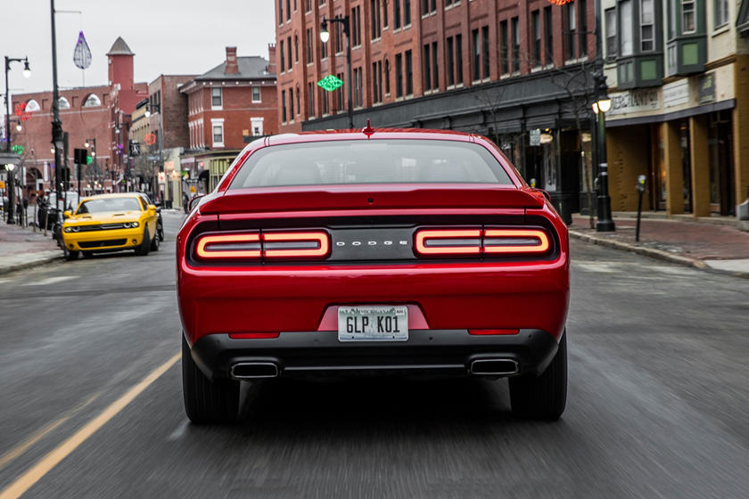 2020 Dodge Challenger Coupe Rear View