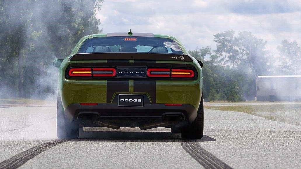 2021 Dodge Challenger SRT Hellcat Widebody Coupe rear view