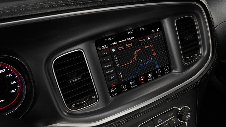 2020 Dodge Charger Sedan Infotainment screen