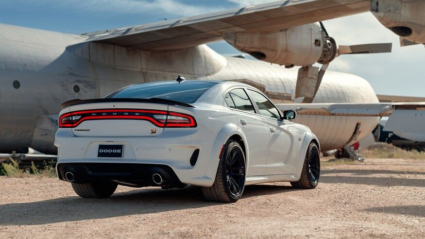 2020 Dodge Charger Sedan Rear View