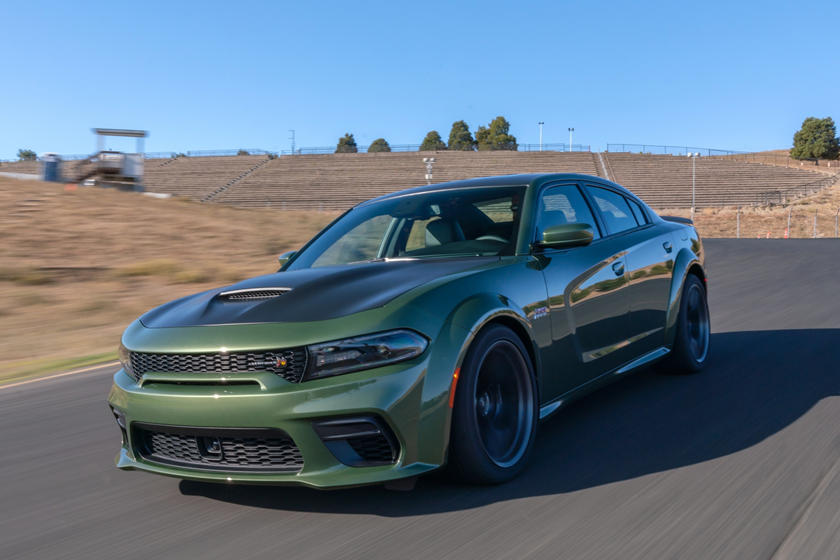2020 Dodge Charger three quarter view