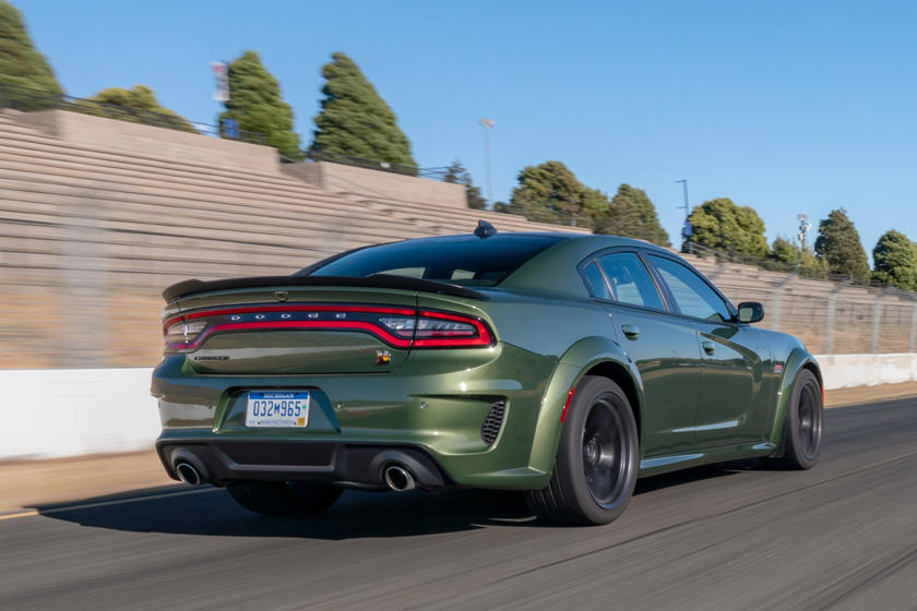 2020 Dodge Charger rear three quarter view