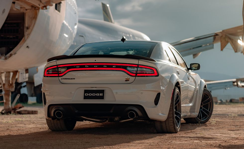 2021 Dodge Charger Sedan Rear View