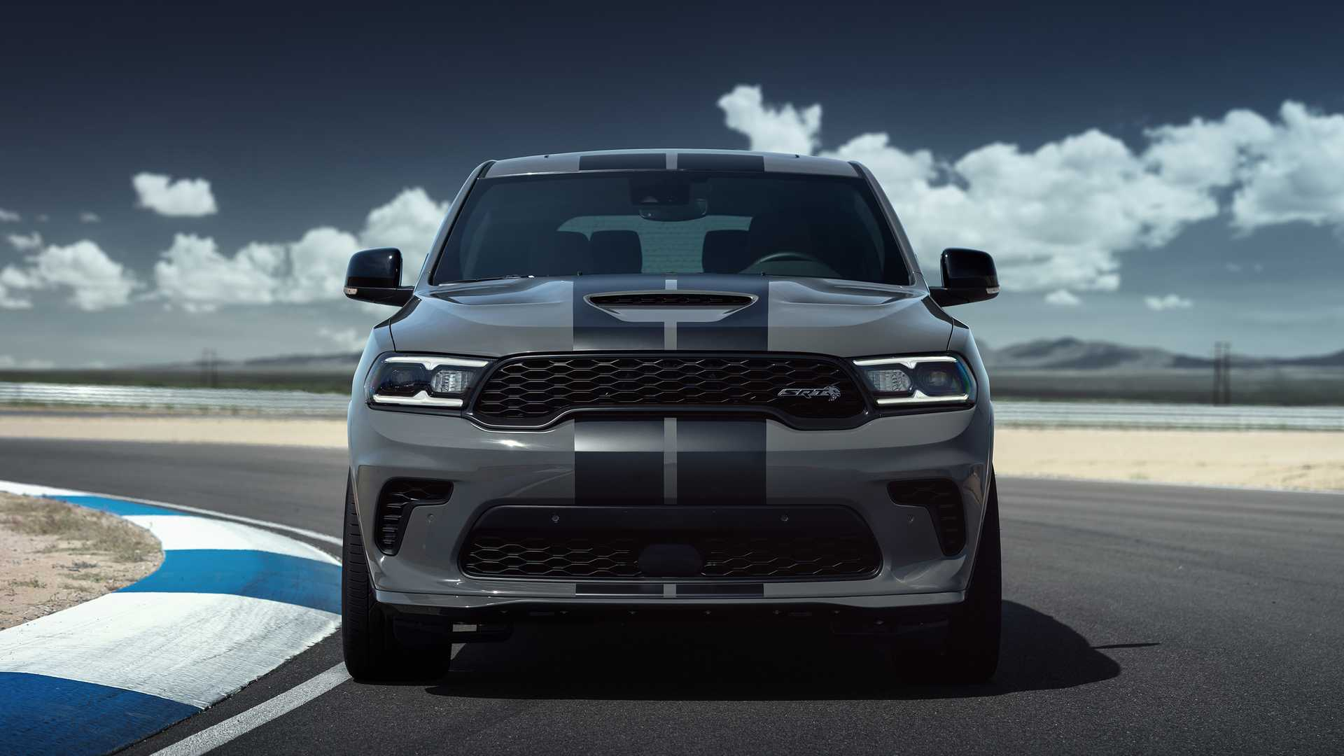 2021 Dodge Durango SRT SUV Front View