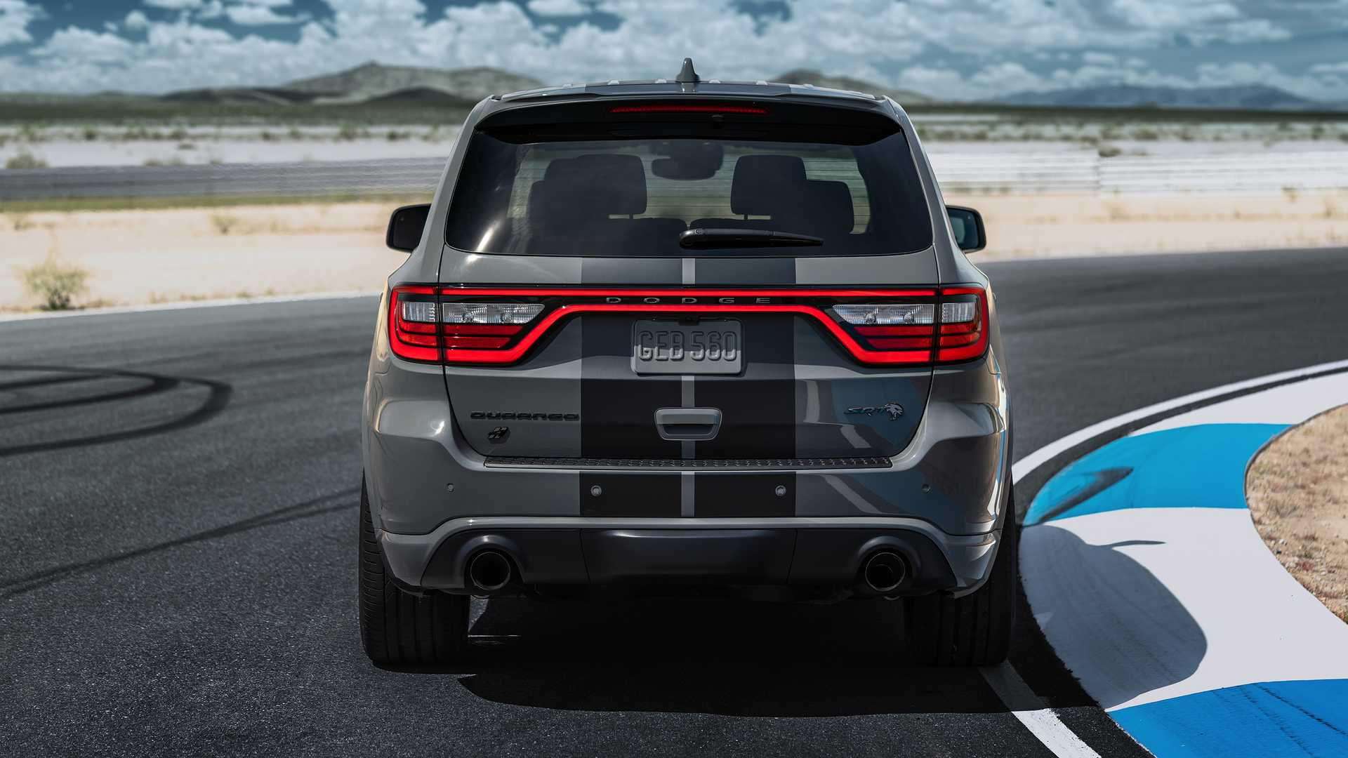 2021 Dodge Durango SRT SUV Rear View