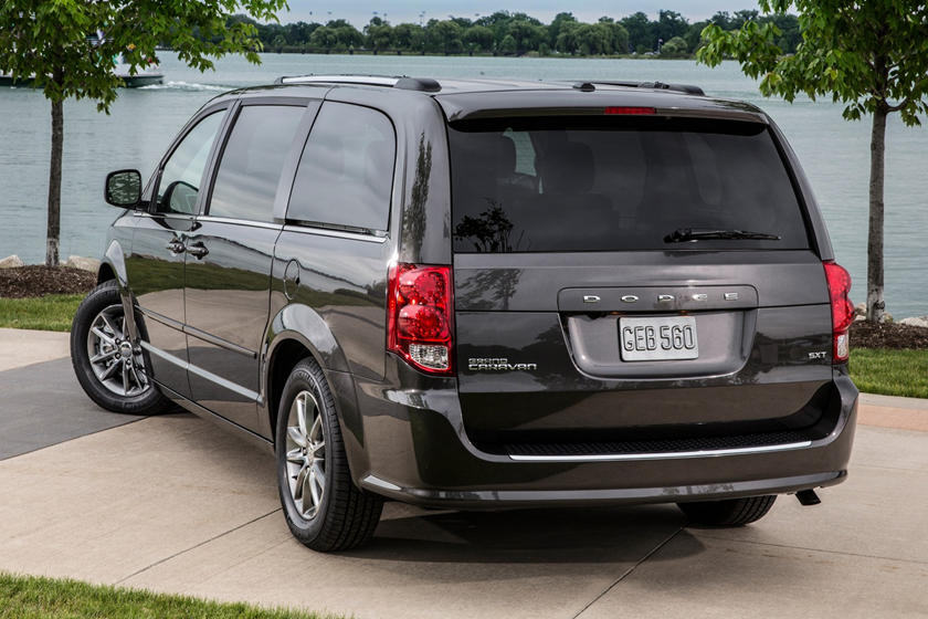 2020 Dodge Grand Caravan rear three quarter view