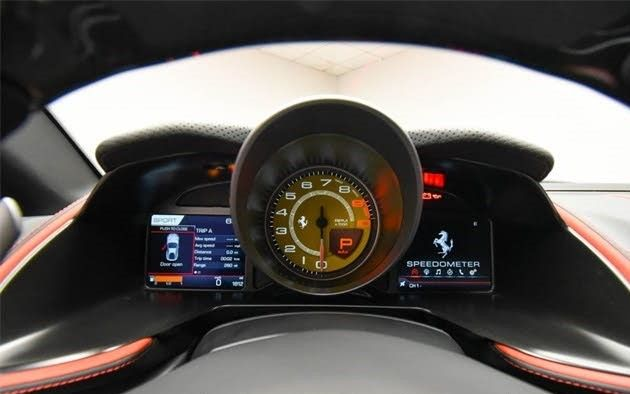 2021 Ferrari 812 Superfast Coupe Interior Image