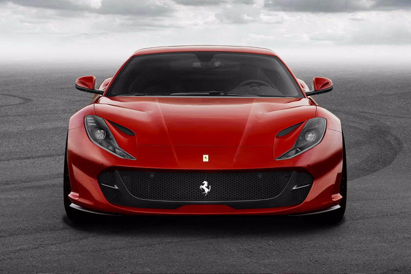 2021 Ferrari 812 Superfast Coupe Front View