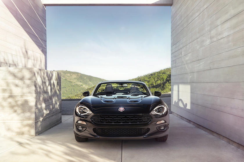 2018 Fiat 124 Spider Convertible front view