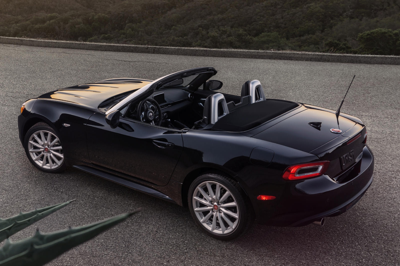 2020 Fiat 124 Spider Convertible Rear View