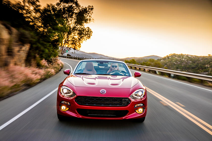 2021 Fiat 124 Spider Convertible Front View