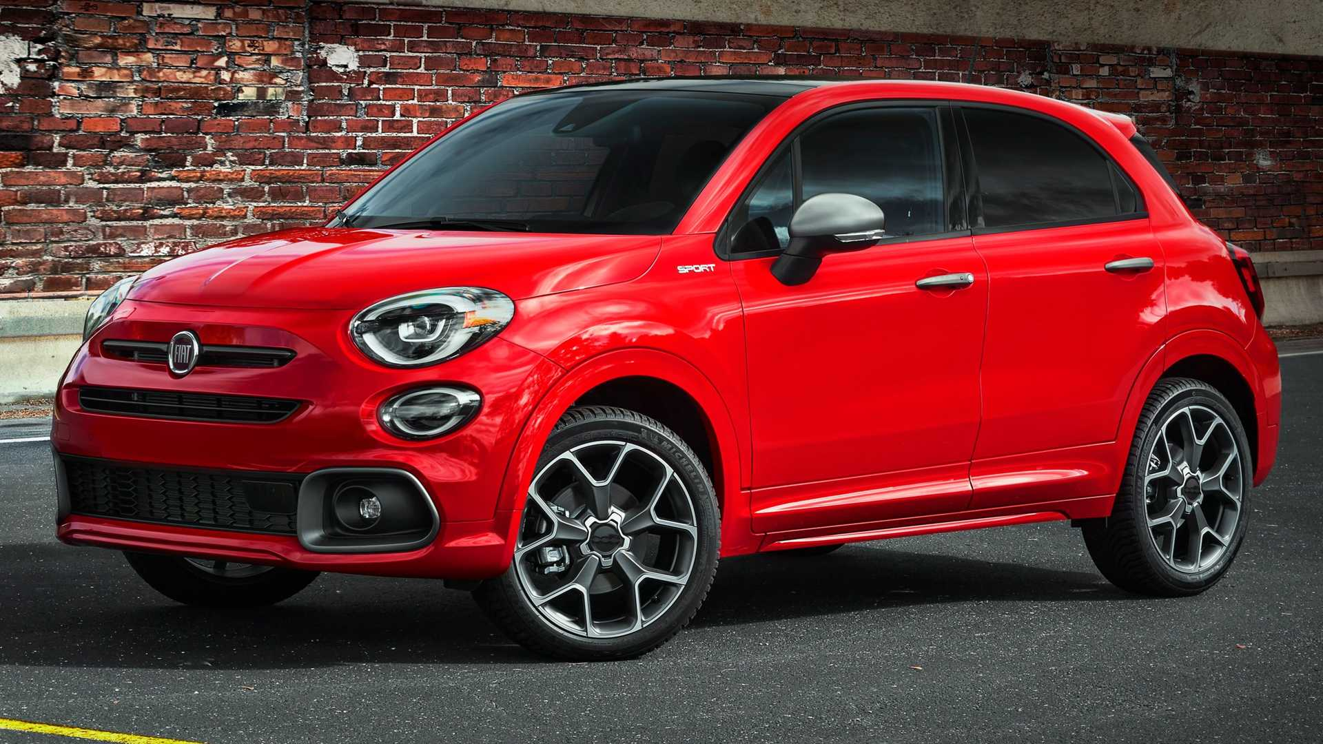 2020 Fiat 500X Sport SUV Front View