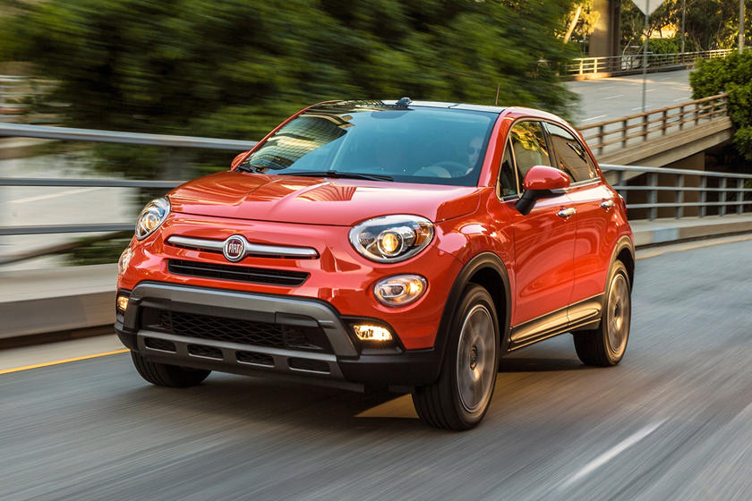 2020 Fiat 500X Sport Front View