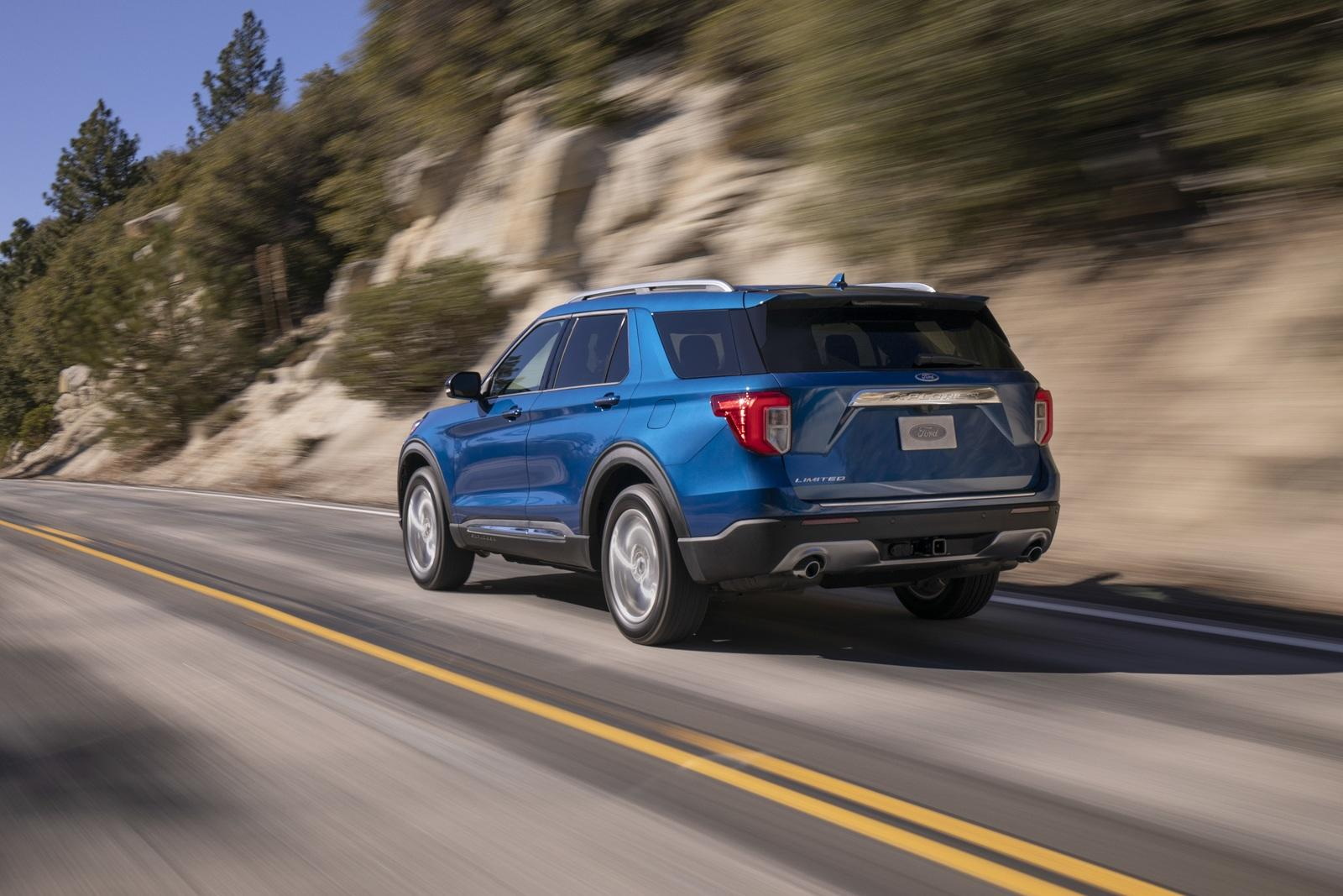 2020 Ford Explorer Exterior Rear View