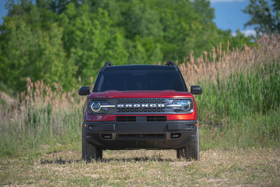 2021 Ford Bronco Sport SUV front view
