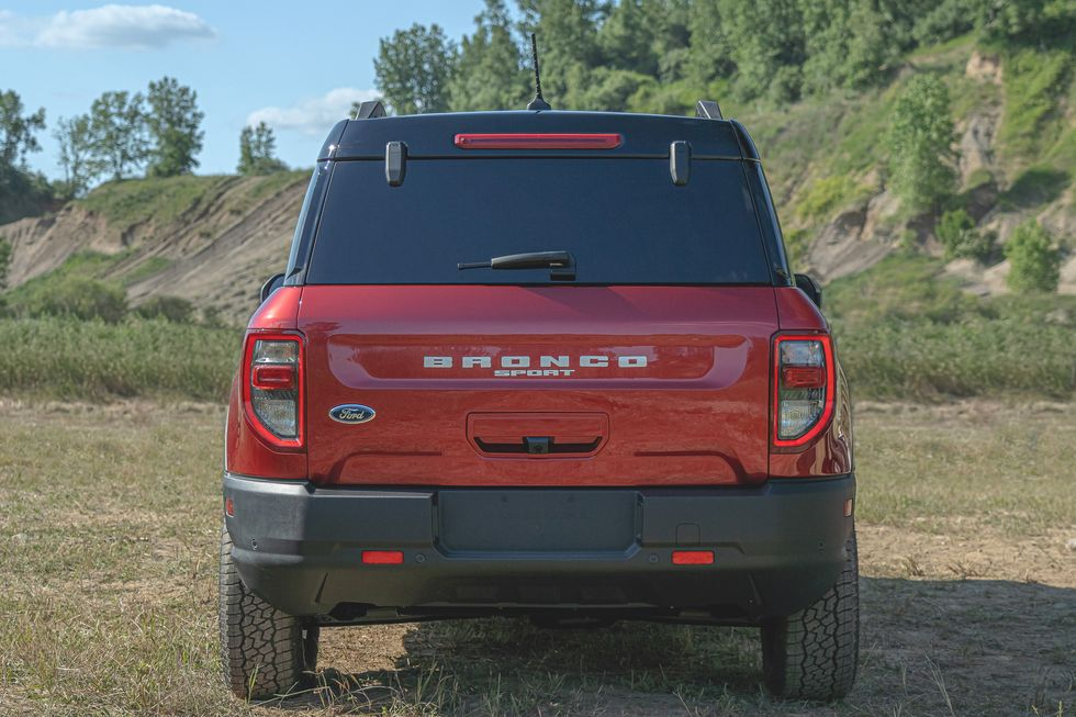 2021 Ford Bronco Sport SUV rear view