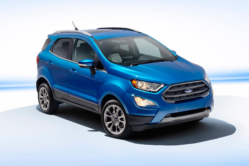2020 Ford EcoSport SUV Front View