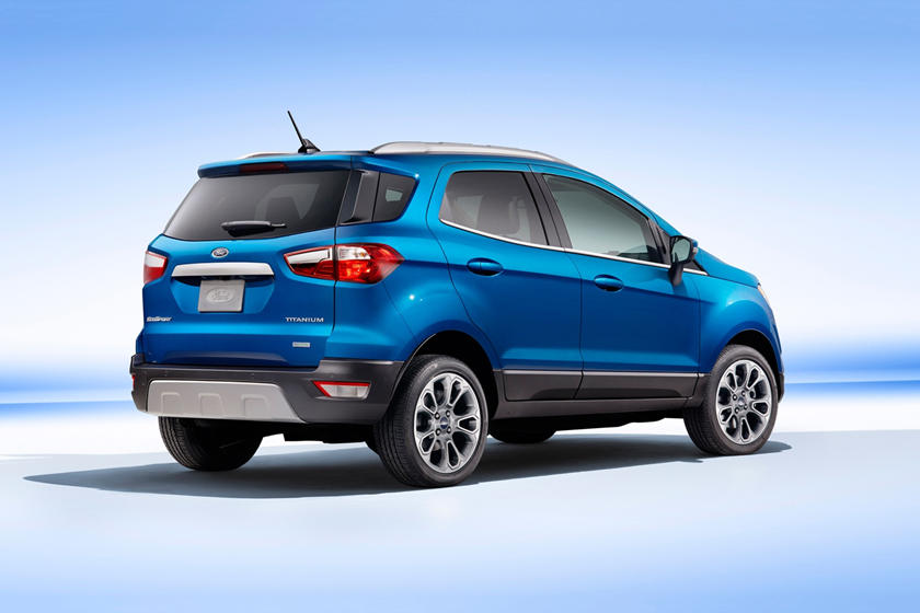 2020 Ford EcoSport SUV Rear View