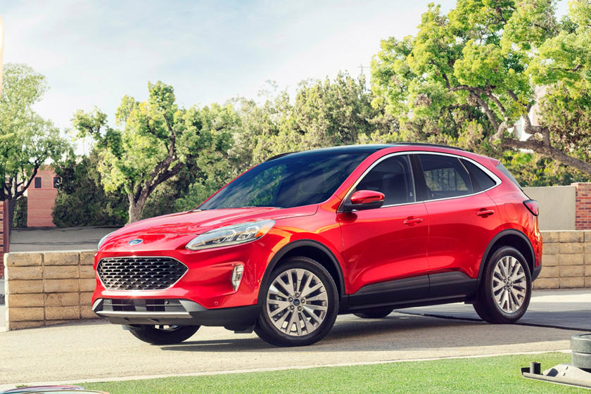 2020 Ford Escape SUV 3rd Quarter View