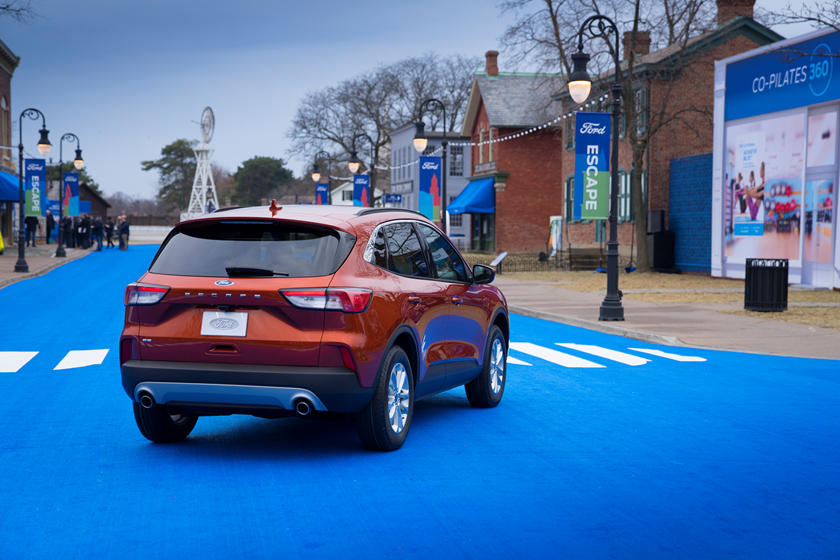 2020 Ford Escape SUV Rear View