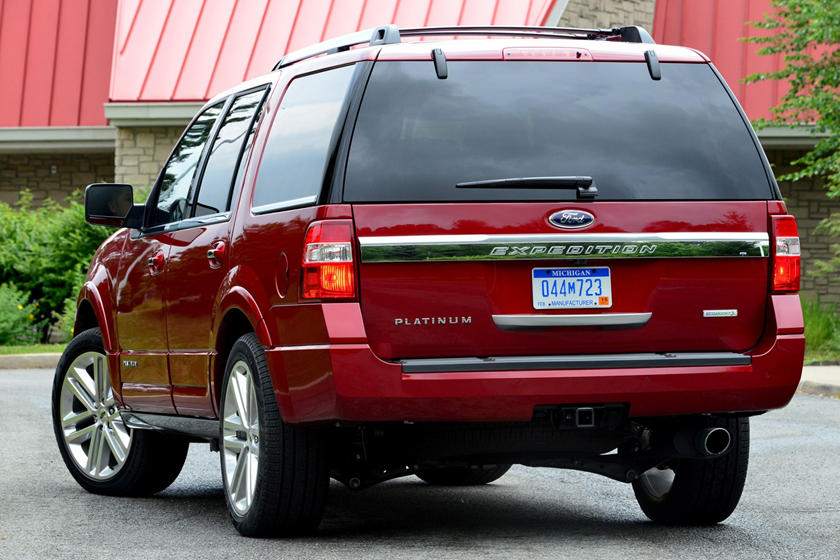 2017 Ford Expedition SUV Rear Three Quarter View