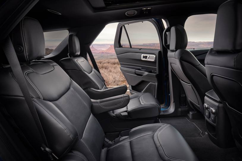 2020 Ford Explorer ST SUV Rear Seats