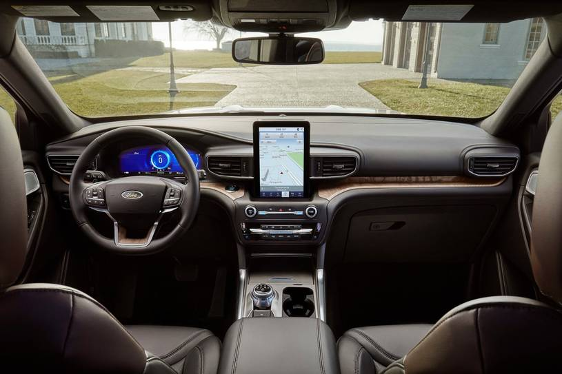 2020 Ford Explorer ST SUV Dashboard