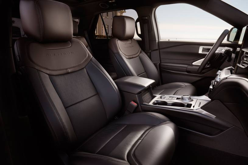 2020 Ford Explorer ST SUV Front Seats