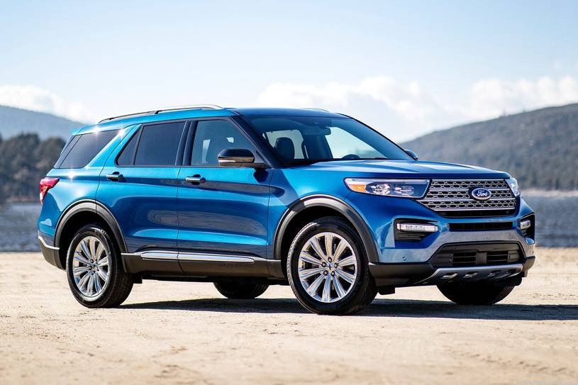 2020 Ford Explorer ST SUV Front View