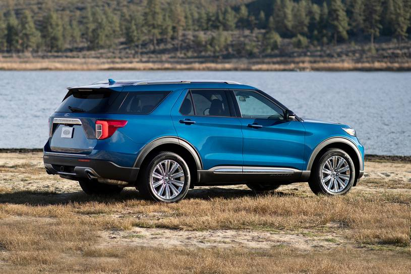 2020 Ford Explorer ST SUV Rear View