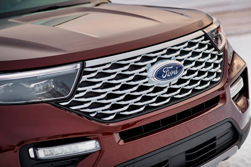 2020 Ford Explorer SUV Bonnet