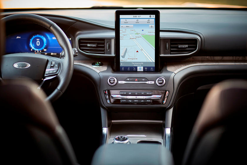 2020 Ford Explorer SUV  Dashboard