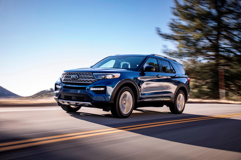 2021 Ford Explorer SUV Front View