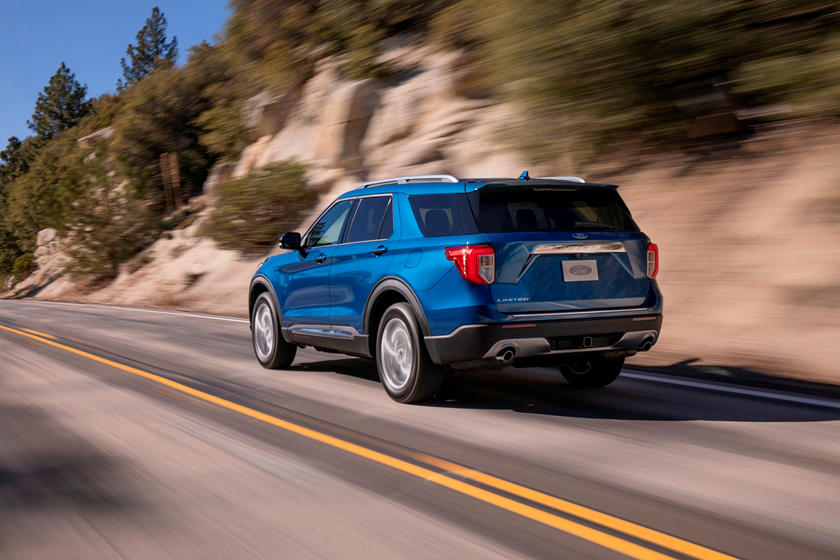 2021 Ford Explorer SUV Rear View