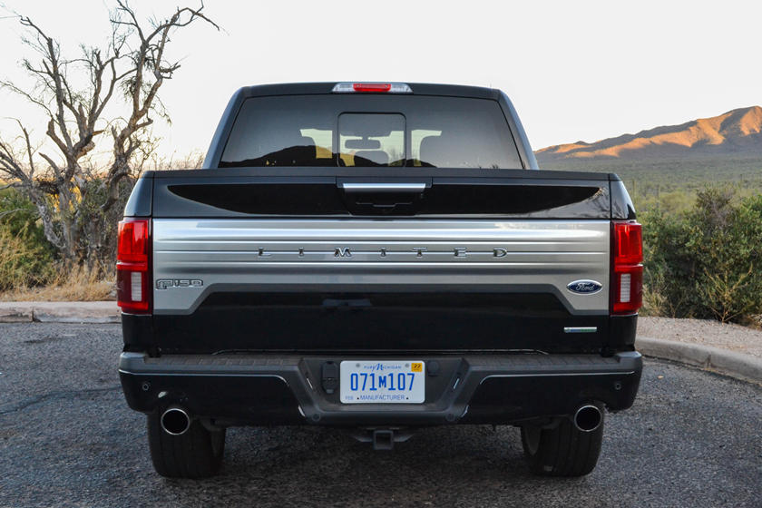 2021 Ford F-150 SuperCrew rear view