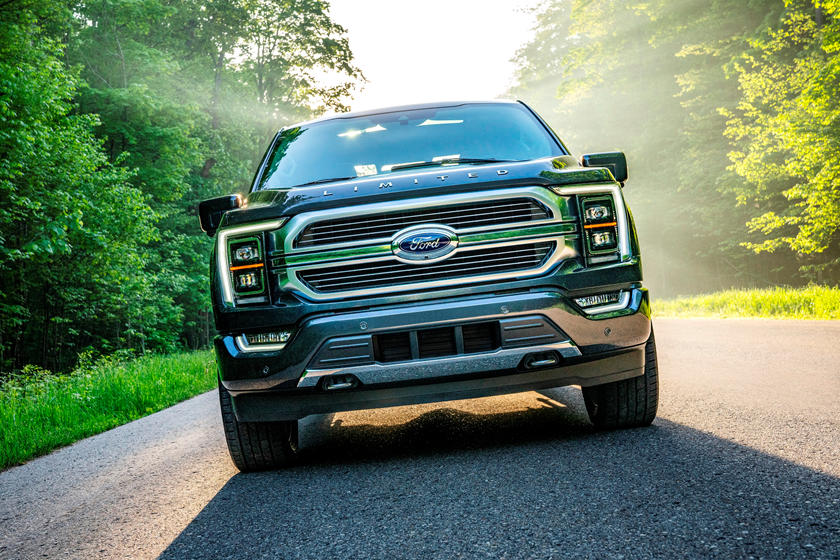 2021 Ford F-150 SuperCrew Diesel Front View