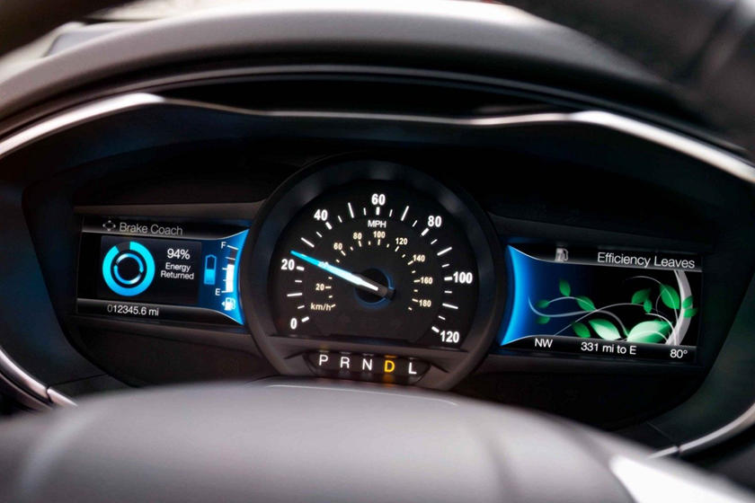 2020 Ford Fusion hybrid Sedan Speed Meter