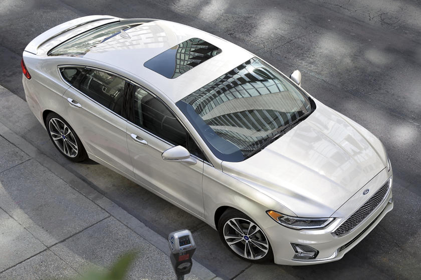 2020 Ford Fusion hybrid Sedan Top view