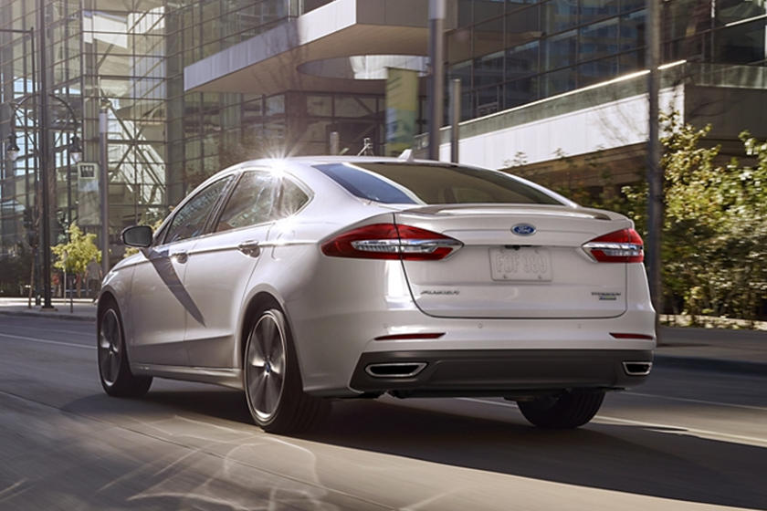 2020 Ford Fusion hybrid Sedan Rear View