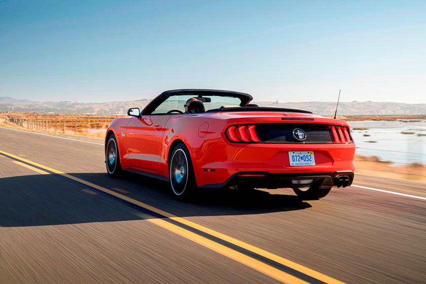 2020 Ford Mustang Convertible Exterior
