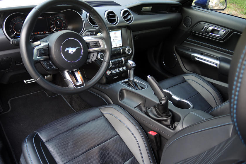 2020 Ford Mustang GT Coupe Interior