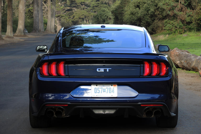 2020 Ford Mustang GT Coupe Rear View
