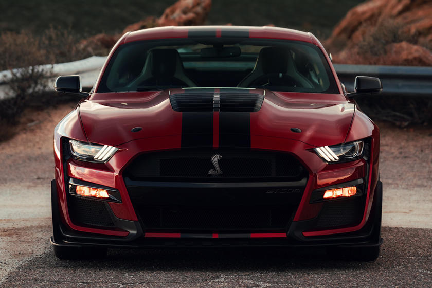 2020 Ford Mustang Shelby GT500 Coupe Front View